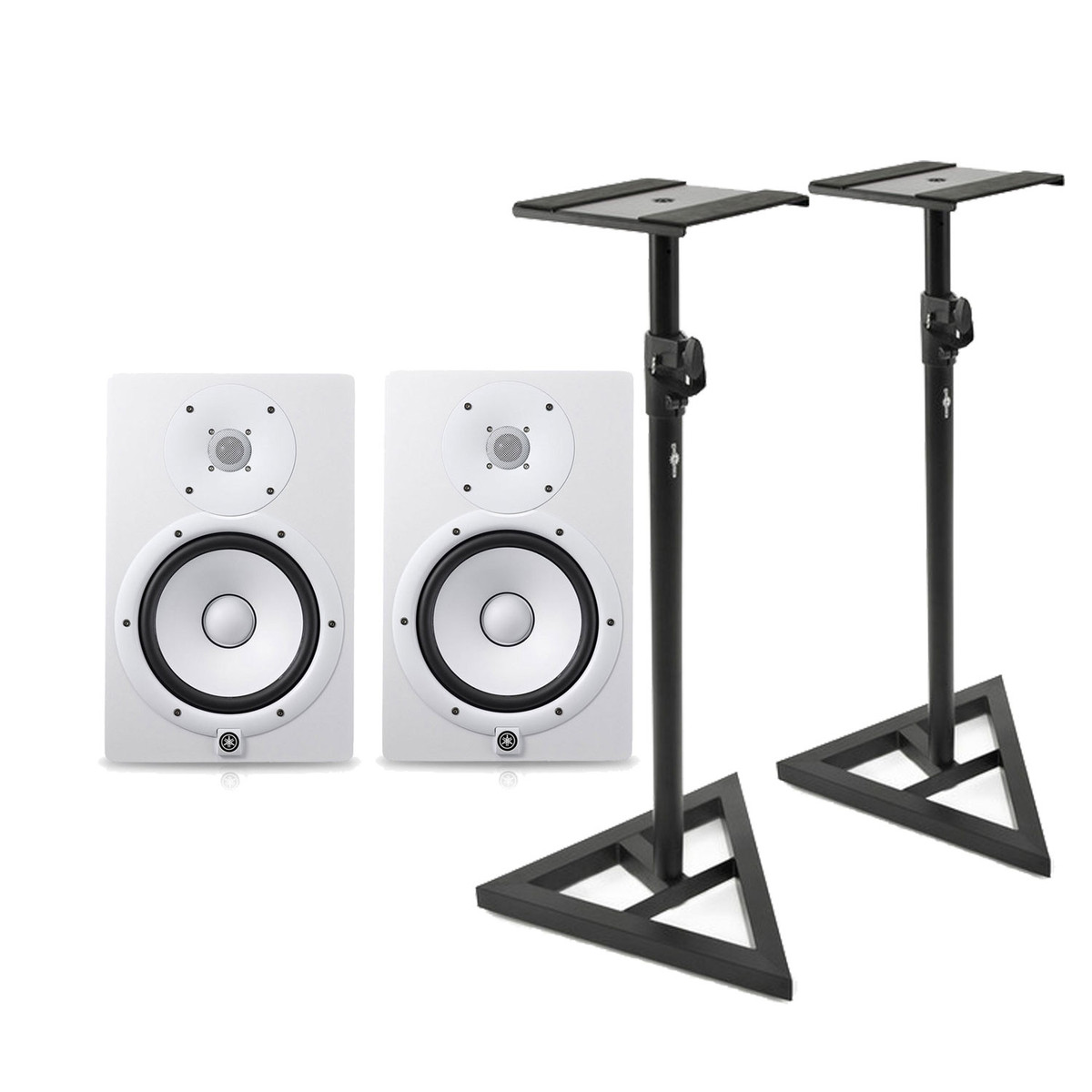 Click to view product details and reviews for Yamaha Hs7w Full Range Studio Monitor White With Monitor Stands.