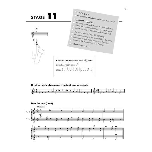Saxophone Basics Pupils Book and CD