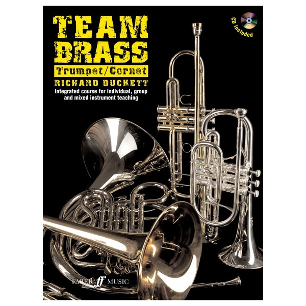 Team Brass Trumpet/Cornet Tuition Book and CD