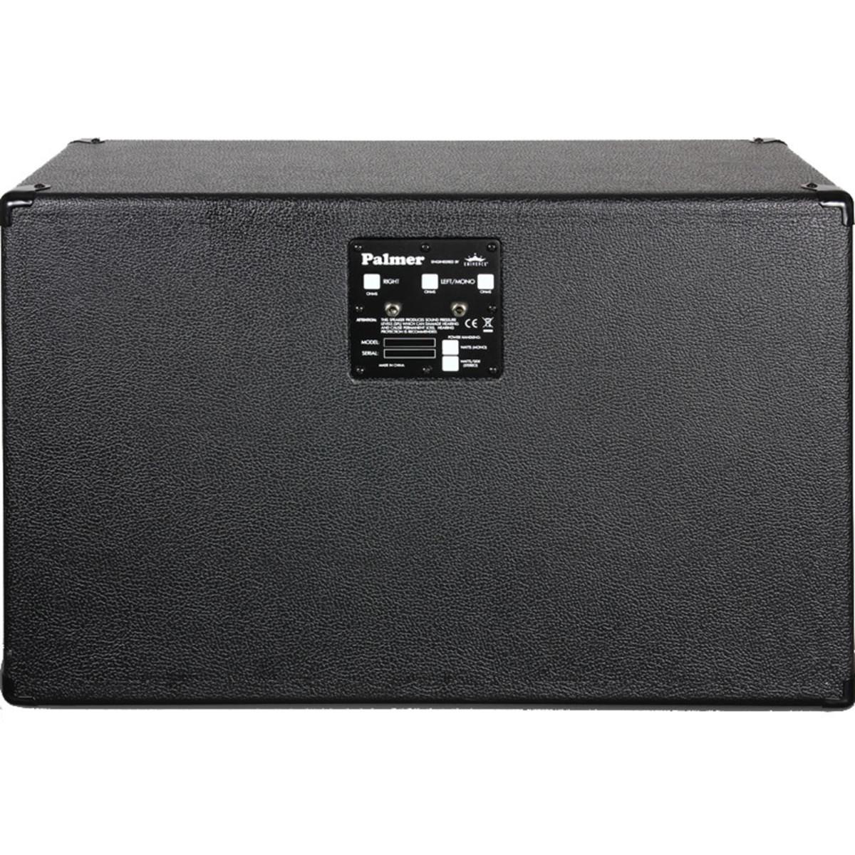 Palmer PCAB212GBK 2x12 Guitar Cabinet Celestion G 12 M Greenbacks ...