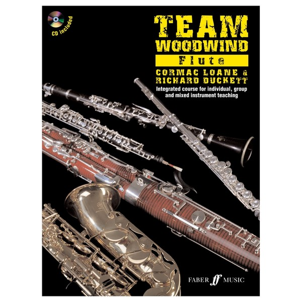Team Woodwind Flute Tuition Book and CD
