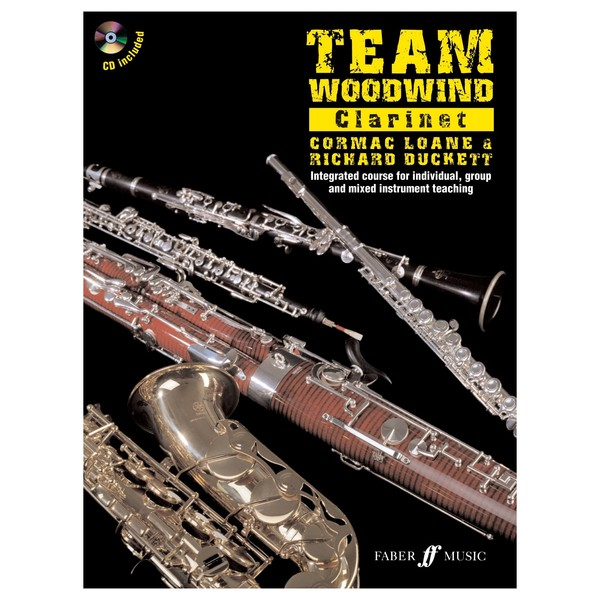 Team Woodwind Clarinet Tuition Book and CD