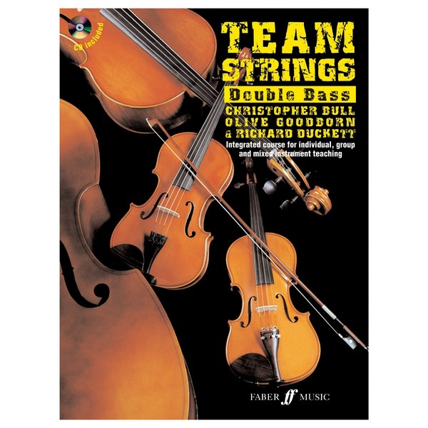 Team Strings Double Bass Tuition Book and CD
