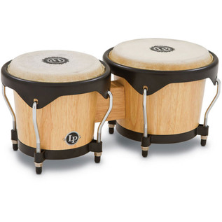 LP Wood Bongos, Natural