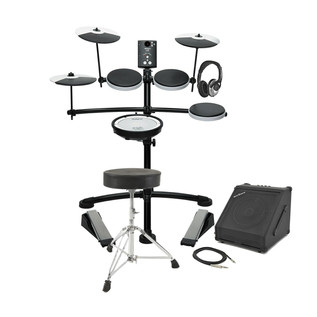 Roland TD-1KV V-Drums Electronic Drum Kit with Amp, Stool and Sticks