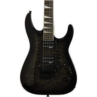 Jackson JS32Q Dinky Electric Guitar, Trans Black