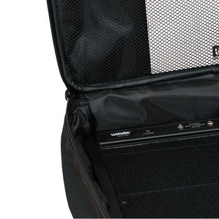 Rockcase RC-23100B Pedalboard Bag With Power Supply, 6-8 Pedals