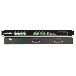 myMix IEX-16L 16 Channel Line Level Expander 2