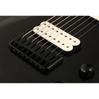 Jackson DKA8 Pro Series Dinky 8-String Guitar, Metallic Black