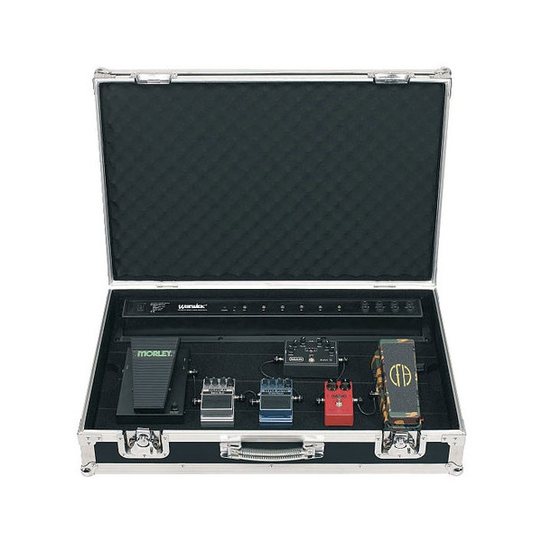 Rockcase RB-23130B Gigboard Flight Case with Power Supply, 6-8 Pedals