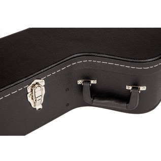 Fender Jumbo Acoustic Flat Top Guitar Case, Black