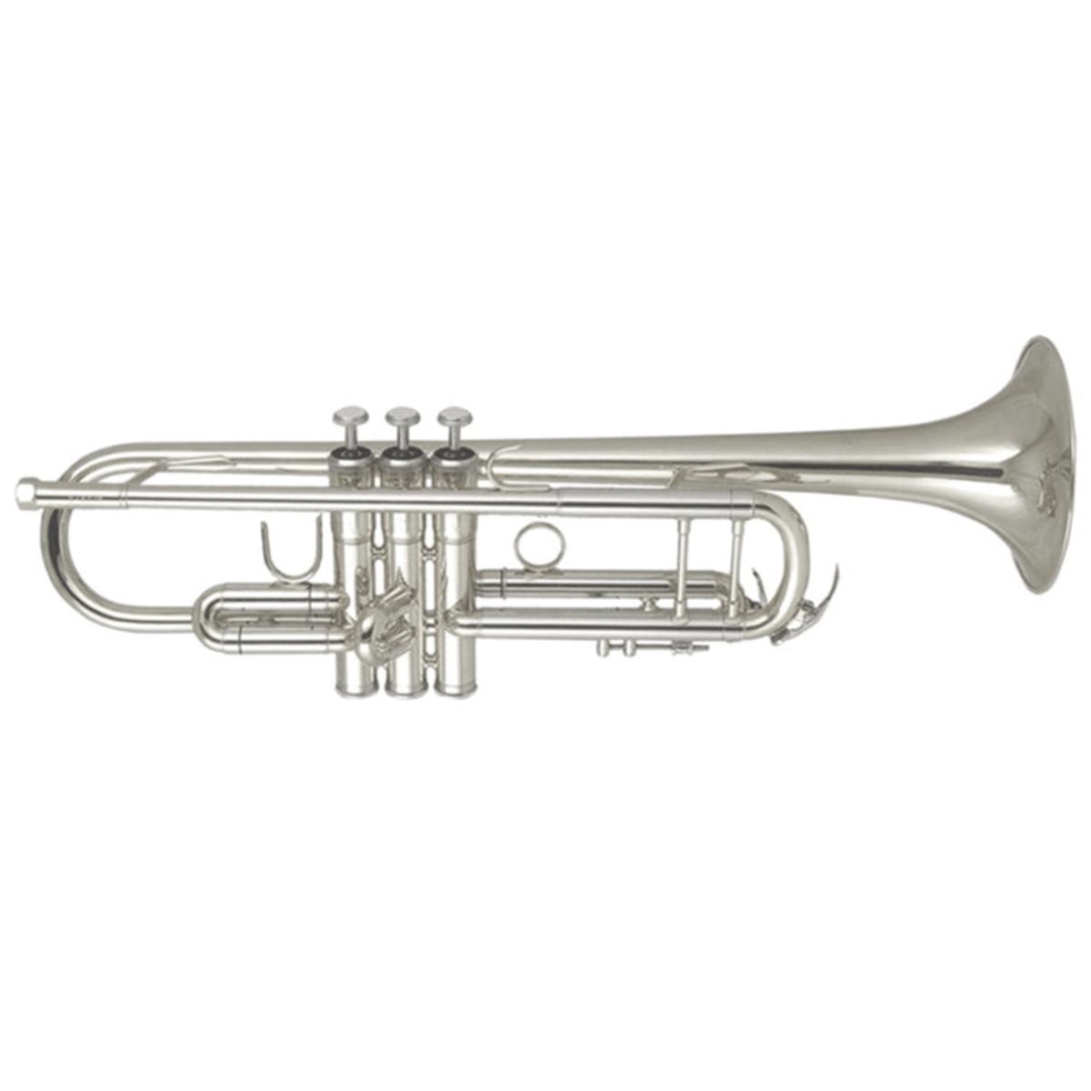 elkhart 100trs student trumpet silver