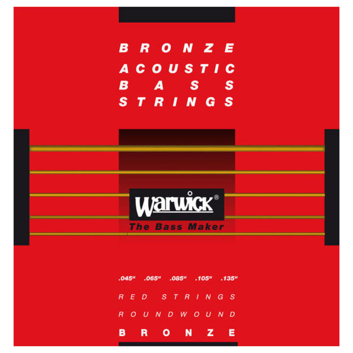 warwick red bronze acoustic bass strings 5 long scale strings at gear4music. Black Bedroom Furniture Sets. Home Design Ideas