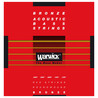 Warwick Red Bronze Acoustic Bass Strings, 5 Long Scale Strings