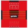 Warwick Corde Bassi acustici bronzo rossi, 5 corde scala lunga