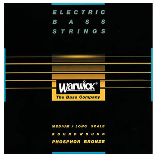 Warwick Black Label Acoustic Bass Strings, 6 Long Scale Strings