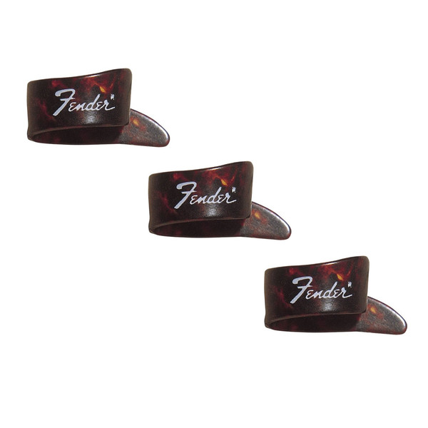 Fender Medium Thumb Pick, 3 Pack