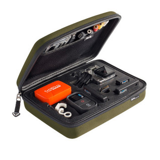 SP Gadgets Case for GoPro Cameras and Accessories, Olive
