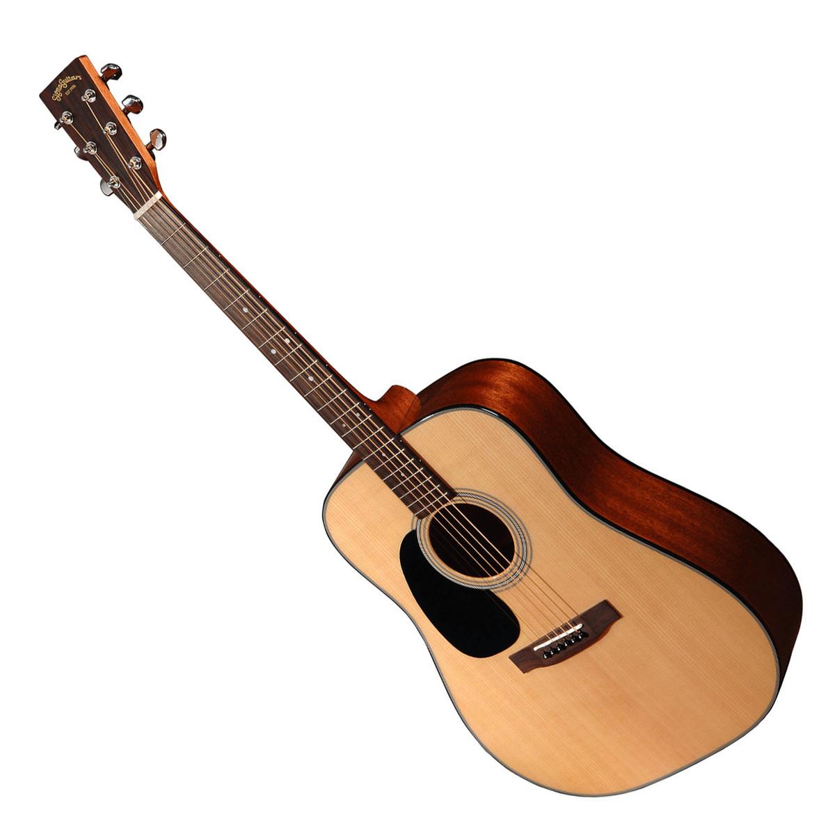 sigma dm 1stl left handed acoustic guitar natural at gear4music. Black Bedroom Furniture Sets. Home Design Ideas