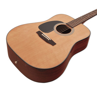 Sigma DM-1STL Left Handed Acoustic Guitar, Natural