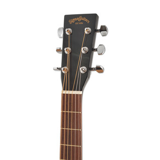 Sigma DM-1ST Acoustic Guitar, Black
