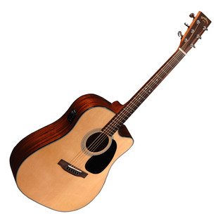 Sigma DMC-1STE Electro Acoustic Guitar, Natural