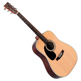 Sigma DR-28L Left Handed Dreadnought Acoustic Guitar, Natural