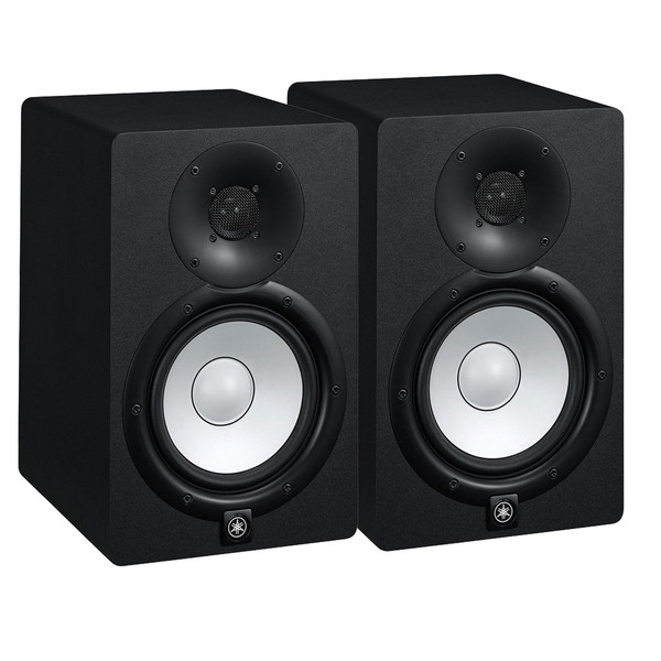 Yamaha HS8 Active Studio Monitors (Pair) with Stands and Cables