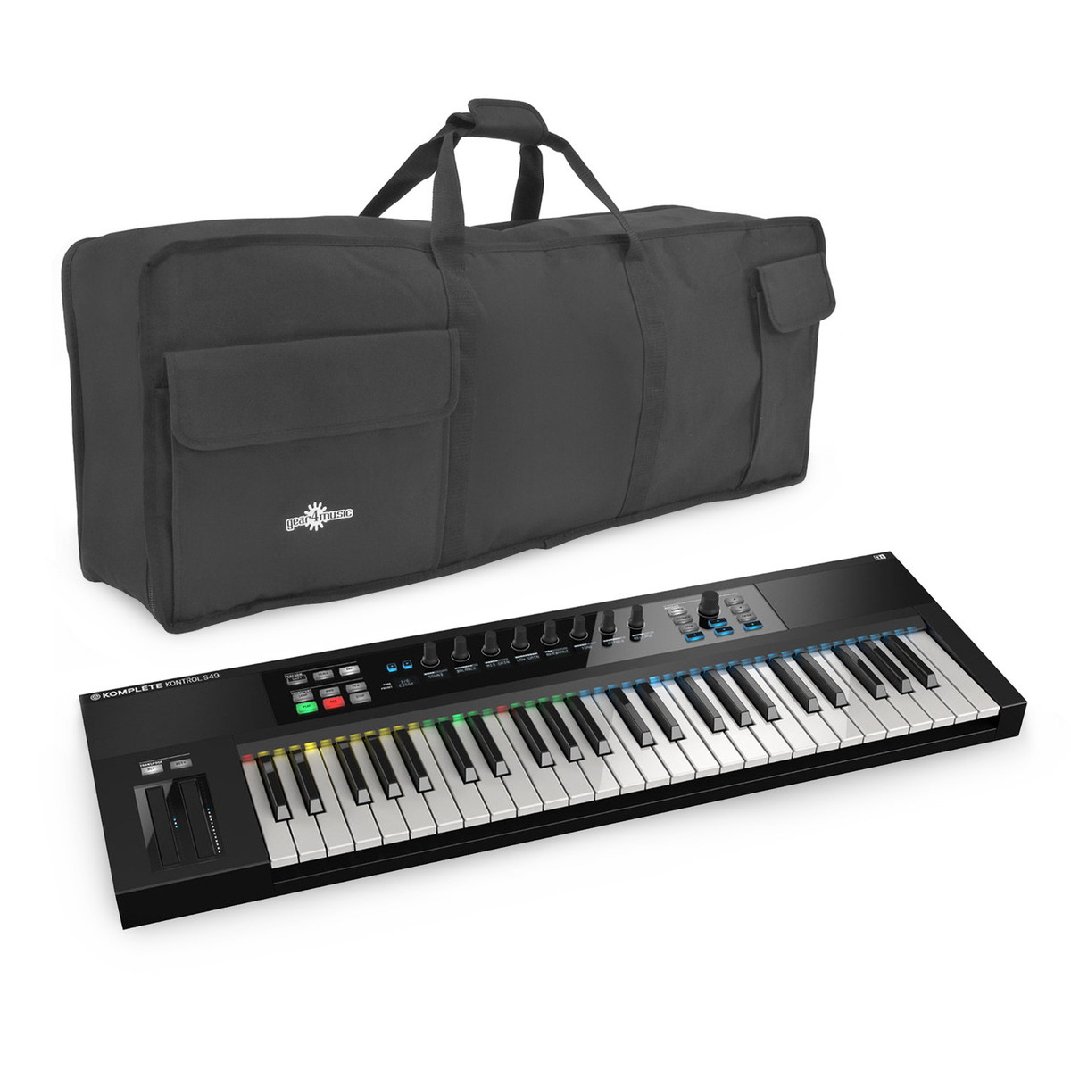native instruments komplete kontrol s49 with bag at gear4music. Black Bedroom Furniture Sets. Home Design Ideas