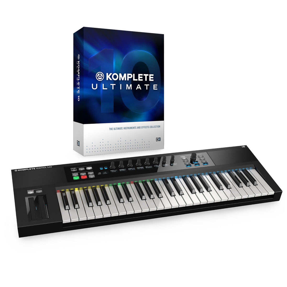 native instruments komplete kontrol s49 avec komplete 10 ultimate gear4music. Black Bedroom Furniture Sets. Home Design Ideas
