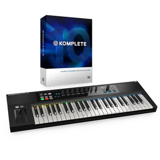 Native Instruments Komplete 10 and Komplete Kontrol S49 Bundle