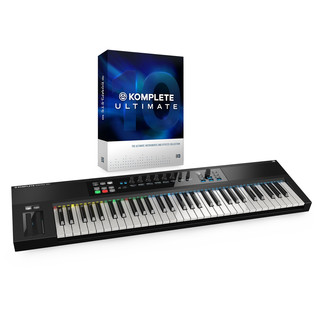 Native Instruments Komplete 10 Ultimate and Kontrol S61 Bundle