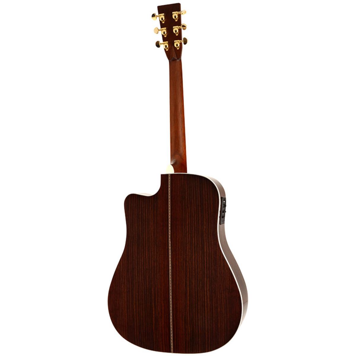 guitare lectro acoustique de sigma rdc 41f naturel. Black Bedroom Furniture Sets. Home Design Ideas