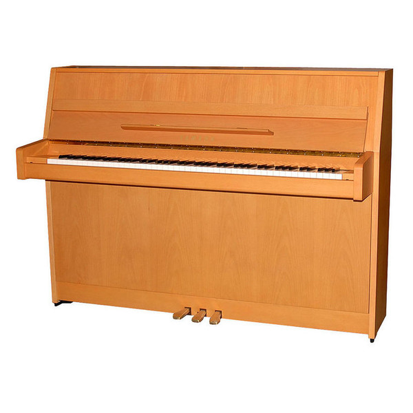 Yamaha B1 Upright Acoustic Piano, Natural Beech Satin