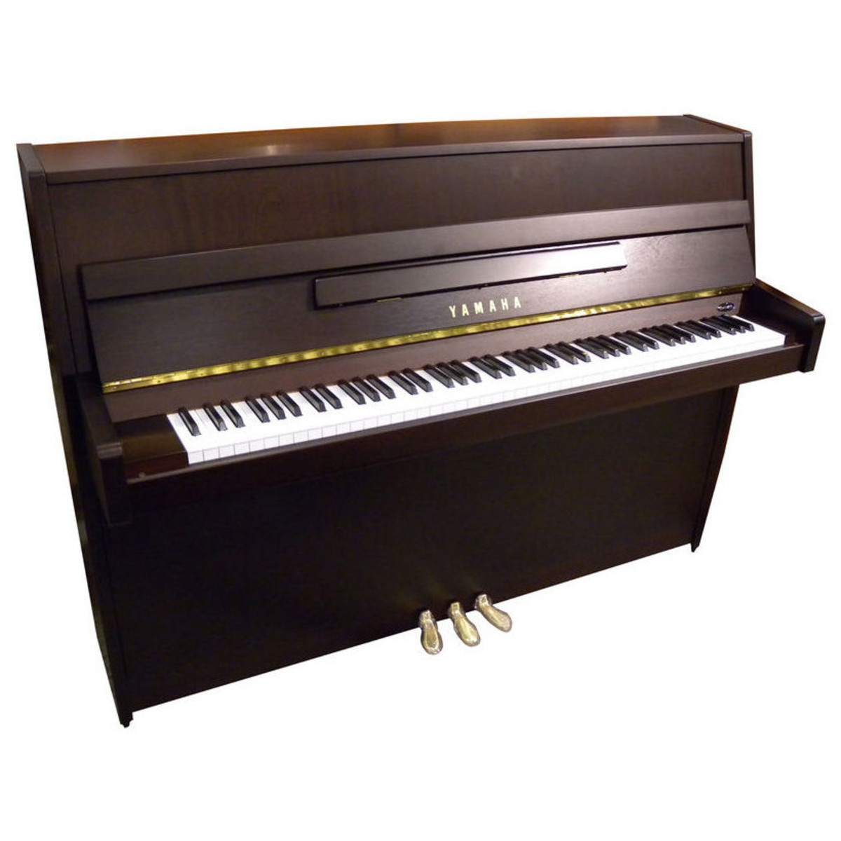 Offlineyamaha b1 upright acoustic piano dark walnut satin for Yamaha piano upright