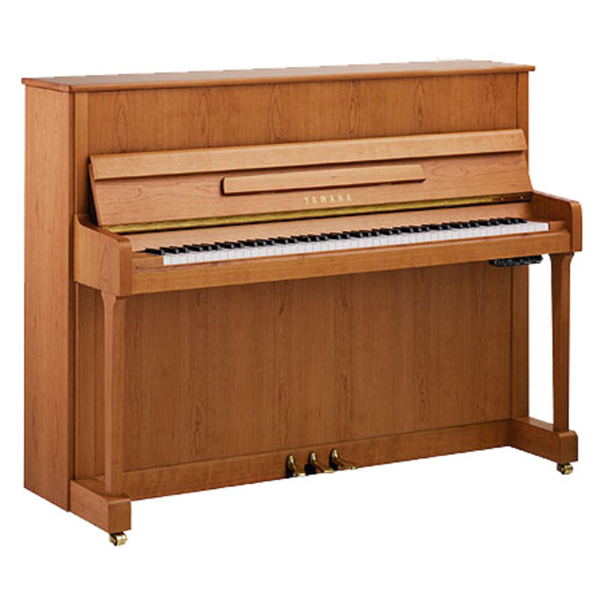 yamaha b2 upright acoustic piano natural cherry satin at gear4music. Black Bedroom Furniture Sets. Home Design Ideas