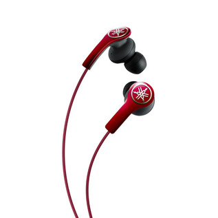 Yamaha EPHM200 Earphones with Remote, Red