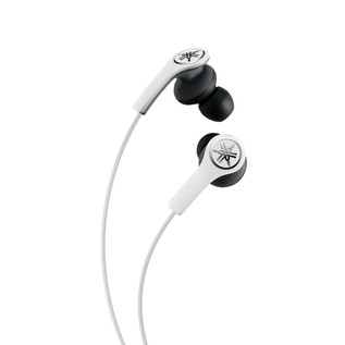 Yamaha EPHM200 Earphones with Remote, White