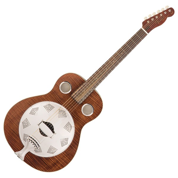 Fender Brown Derby Resonator, RW, Brown Stain