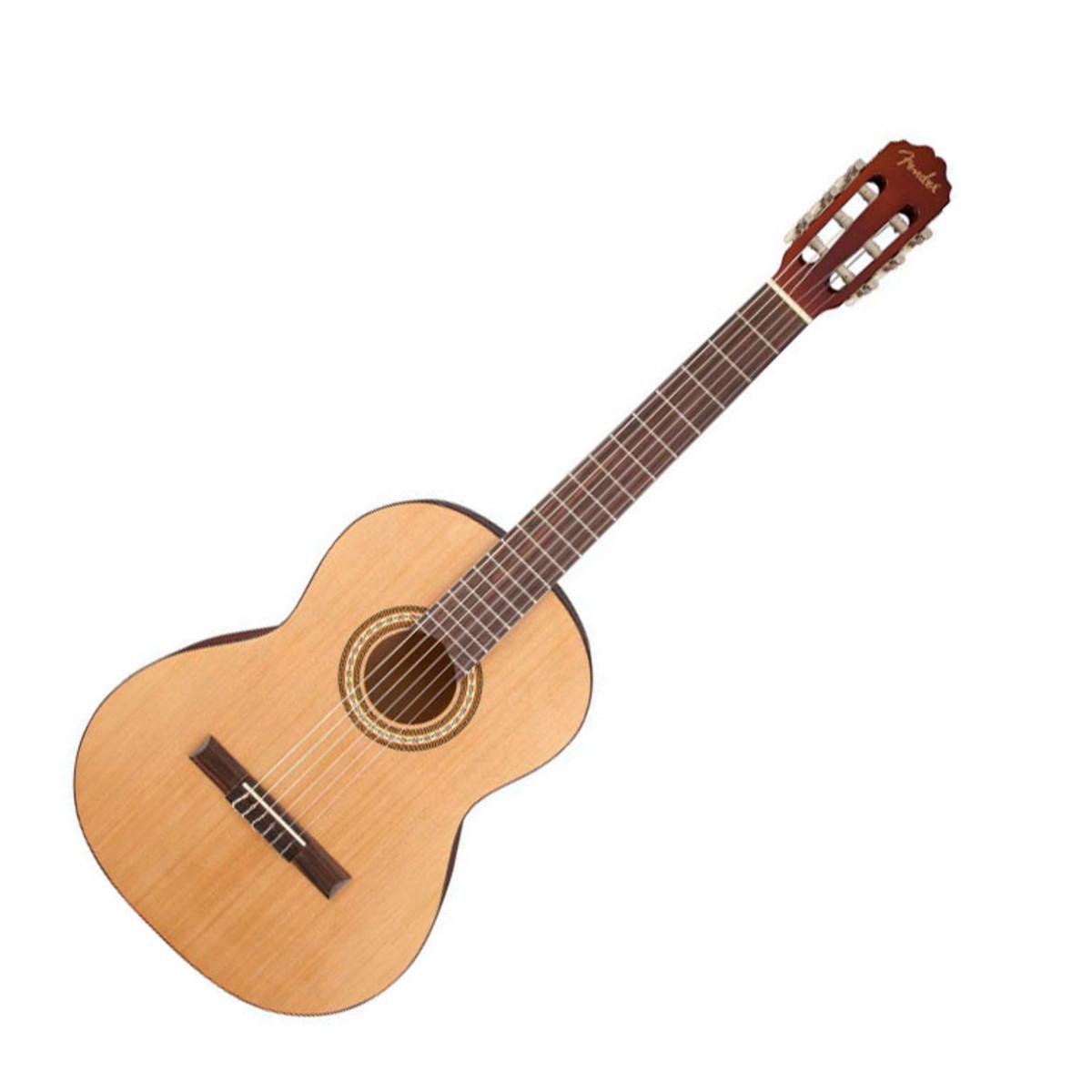 fender fc 1 guitare classique naturel. Black Bedroom Furniture Sets. Home Design Ideas