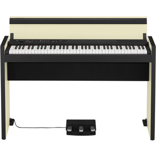 Korg LP-380 73 Key Digital Piano, Black and Cream