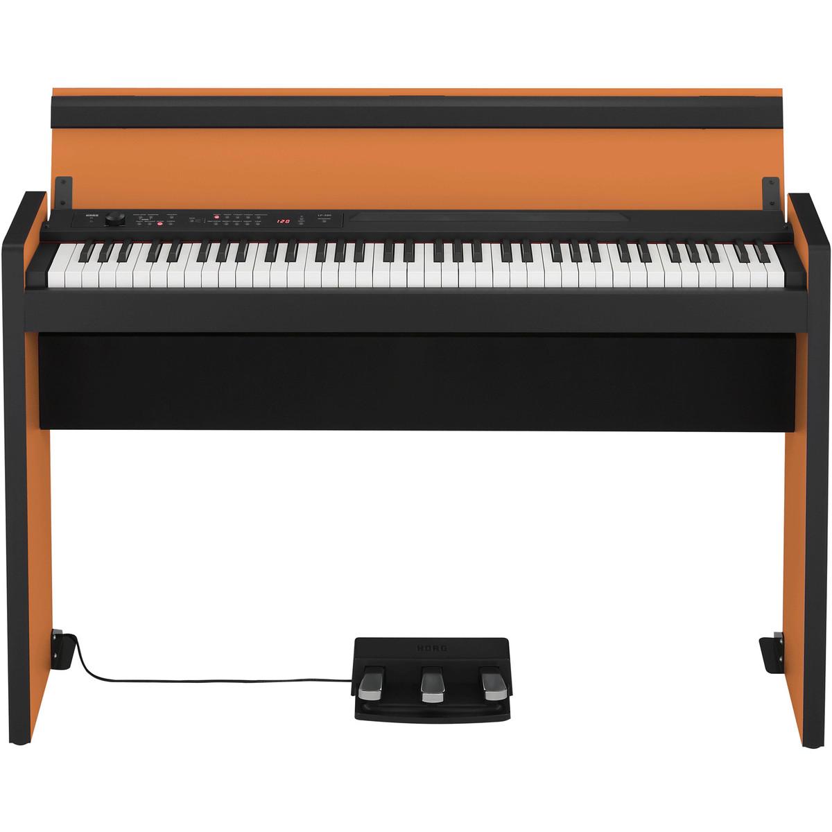korg lp 380 73 key digital piano black and orange at gear4music. Black Bedroom Furniture Sets. Home Design Ideas
