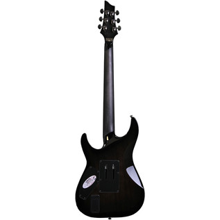 Schecter Hellraiser Hybrid C-1 FR Electric Guitar, Tran Black Burst