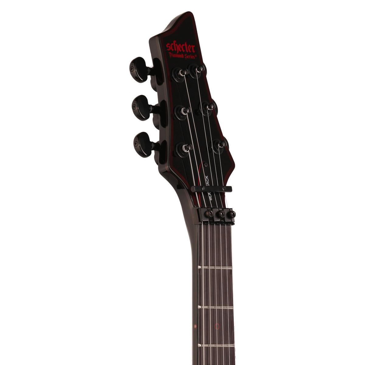 Schecter Blackjack C-1 Floyd Rose Electric Guitar, Gloss Black at ...