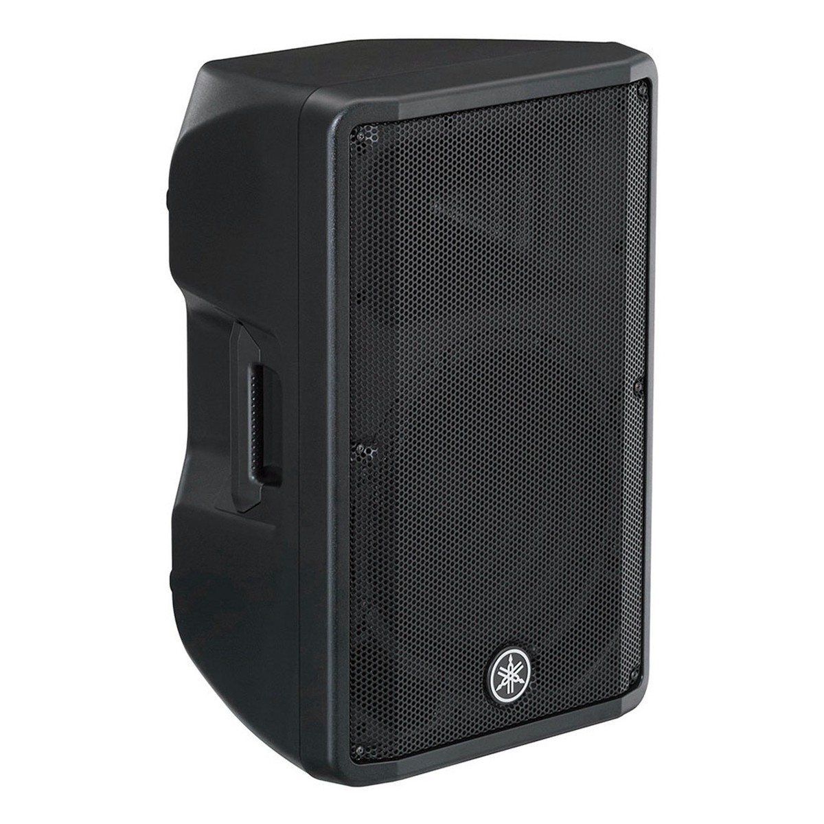 Yamaha dbr12 active pa speaker pair with speaker stands at for Yamaha sound dock