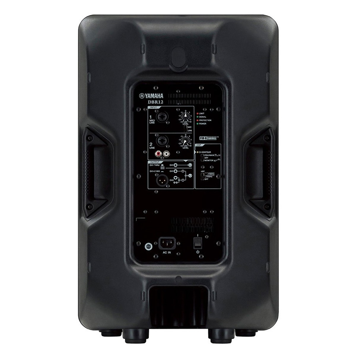 Yamaha dbr12 active pa speaker pair with speaker stands at for Yamaha powered speakers review