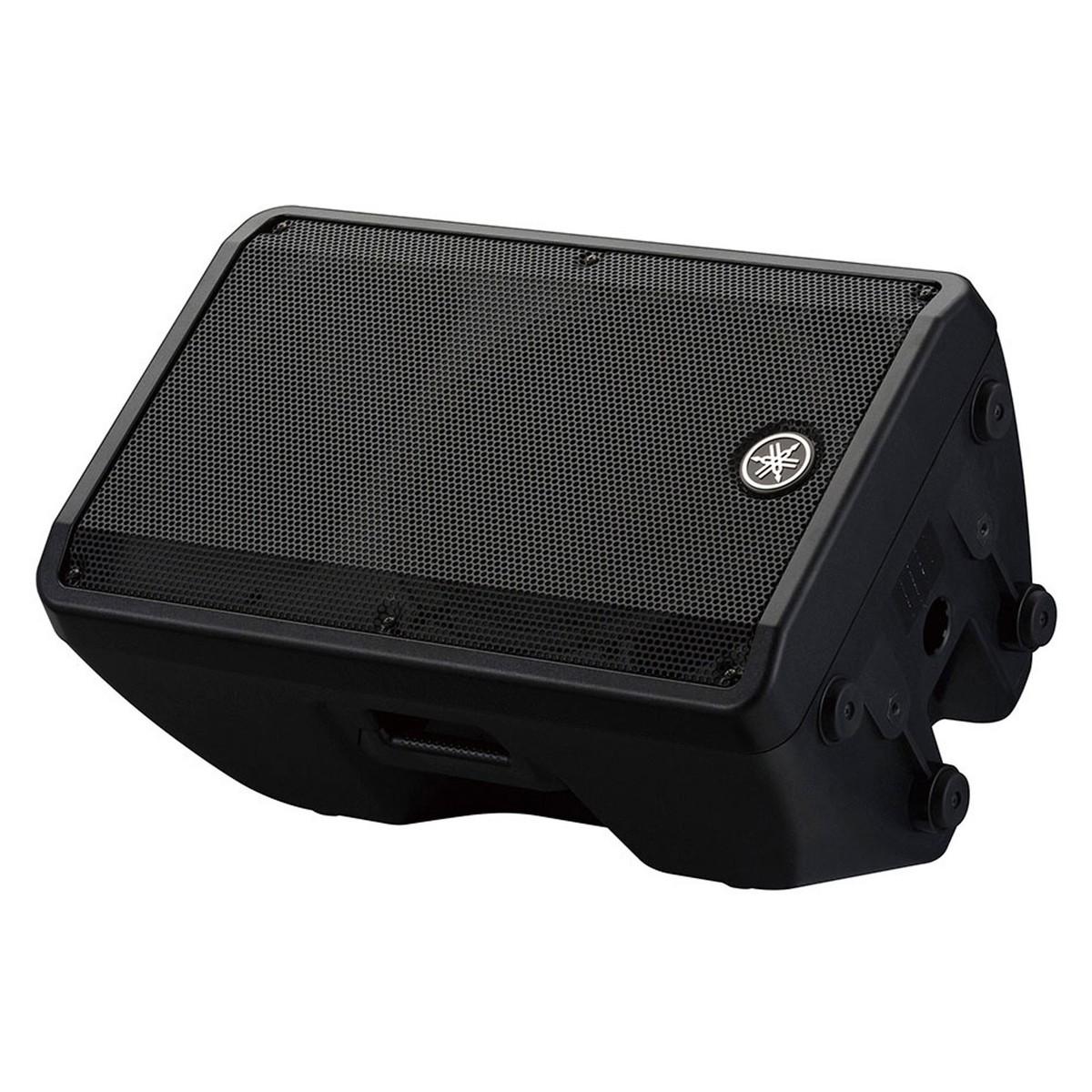 Yamaha dbr12 active pa speaker pair with speaker stands at for Yamaha dj speaker