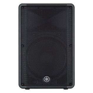 Yamaha DBR15 Active PA Speaker front