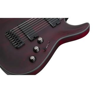 Schecter Blackjack ATX C-8 8 String Guitar, Vampyre Red Satin