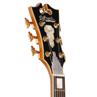 D'Angelico EXDCSP Semi-Hollow Body Electric Guitar, Natural